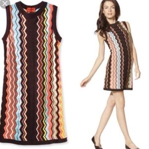 Missoni for Target dress size xs preowned brown